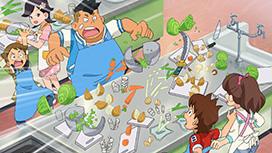 第16話 「調理実習はてんてこまい!」 「届け!ジバニャンの応援(エール)」